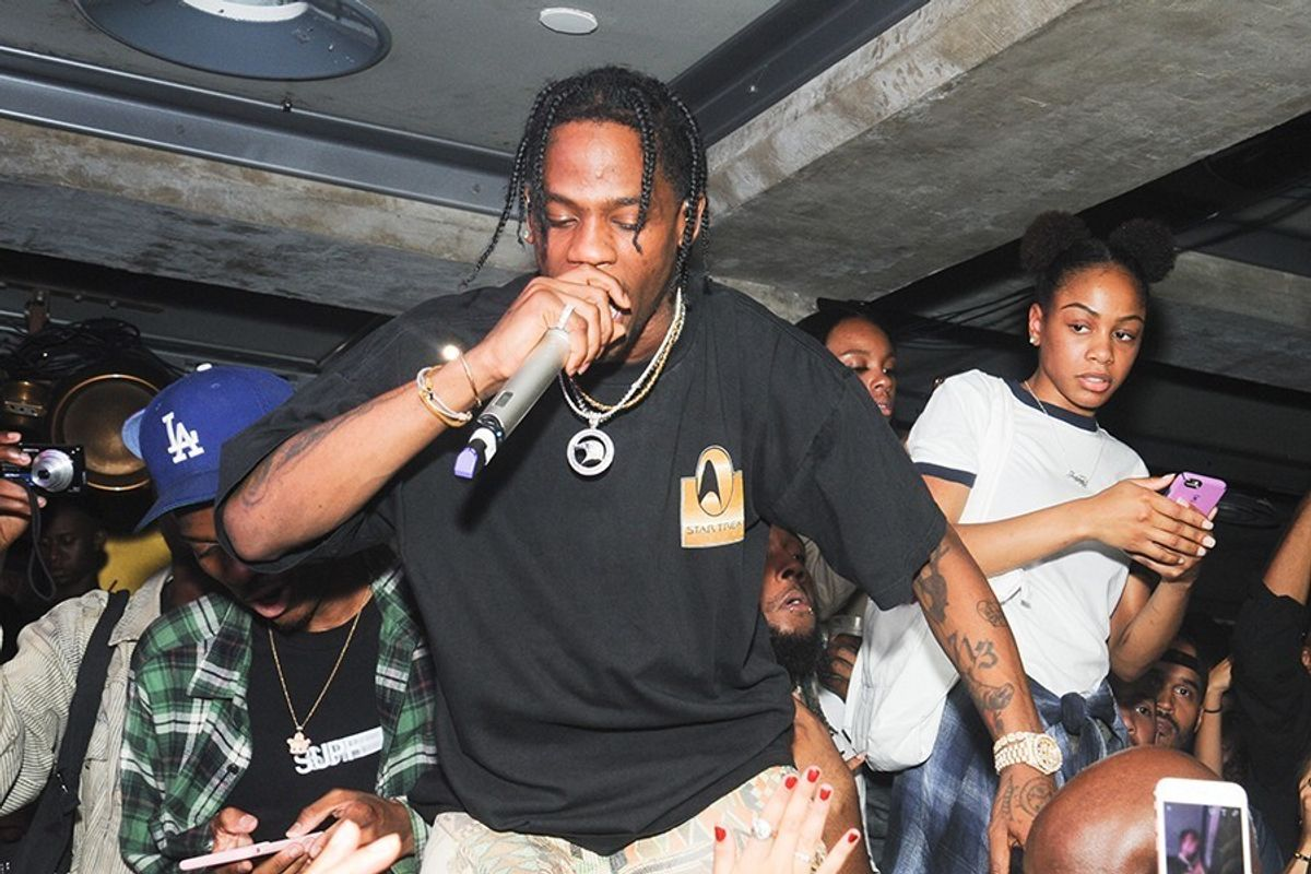 """Watch Travis Scott's Documentary, """"La Flame,"""" featuring Kanye West and Seth Rogen"""