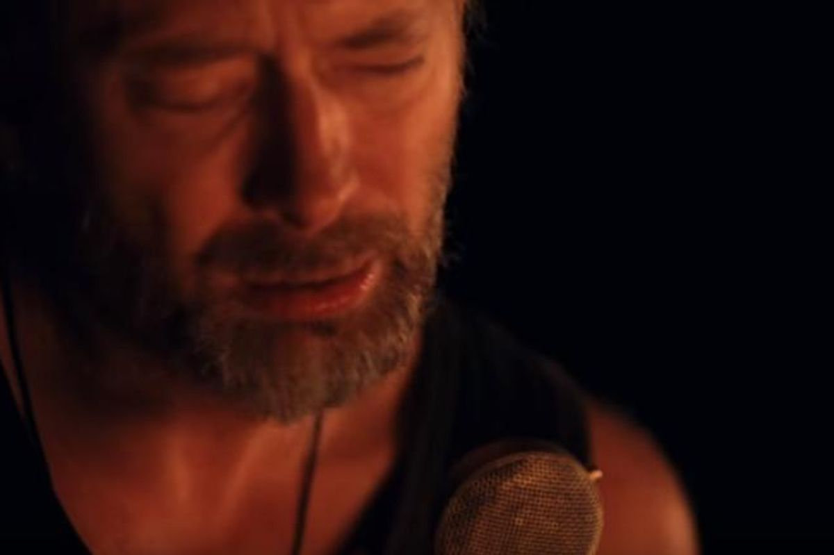 """Watch Radiohead's New Music Video For """"Present Tense: Jonny, Thom, & A CR78,"""" Directed By Paul Thomas Anderson"""