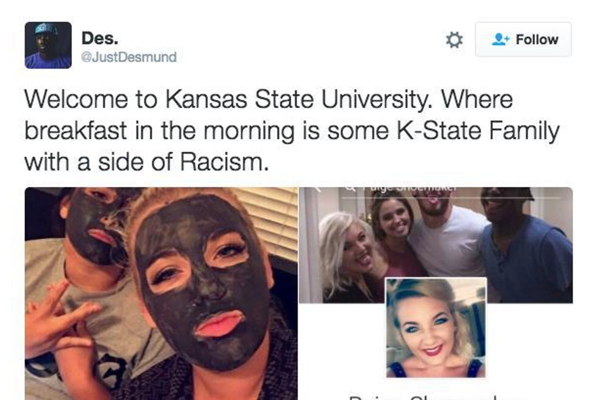 UPDATED: Like the Falling of the Leaves, Autumn Brings the First College Student in Blackface