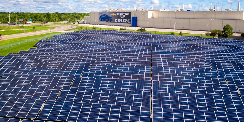 General Motors Commits to Run on 100% Renewables by 2050