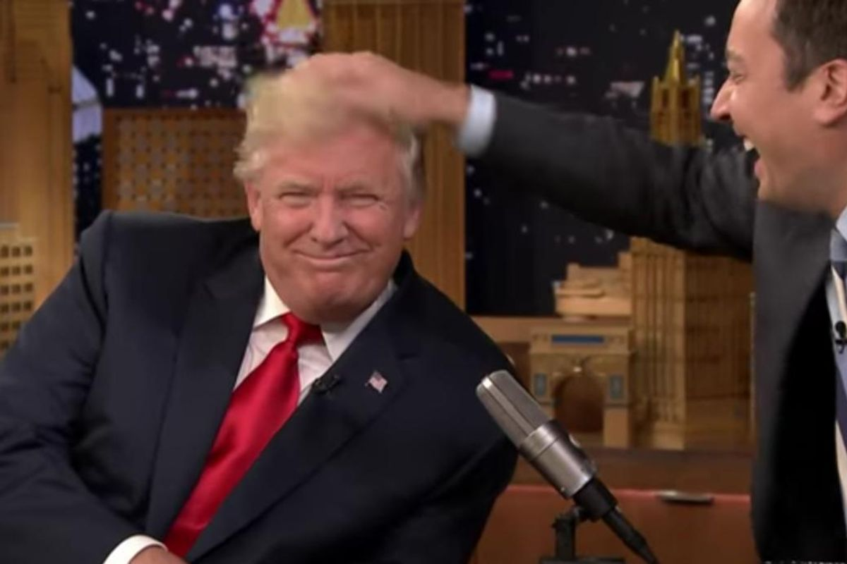 Jimmy Fallon Kept It Light with Donald Trump on the Tonight Show, and the Internet Is Having Zero of It