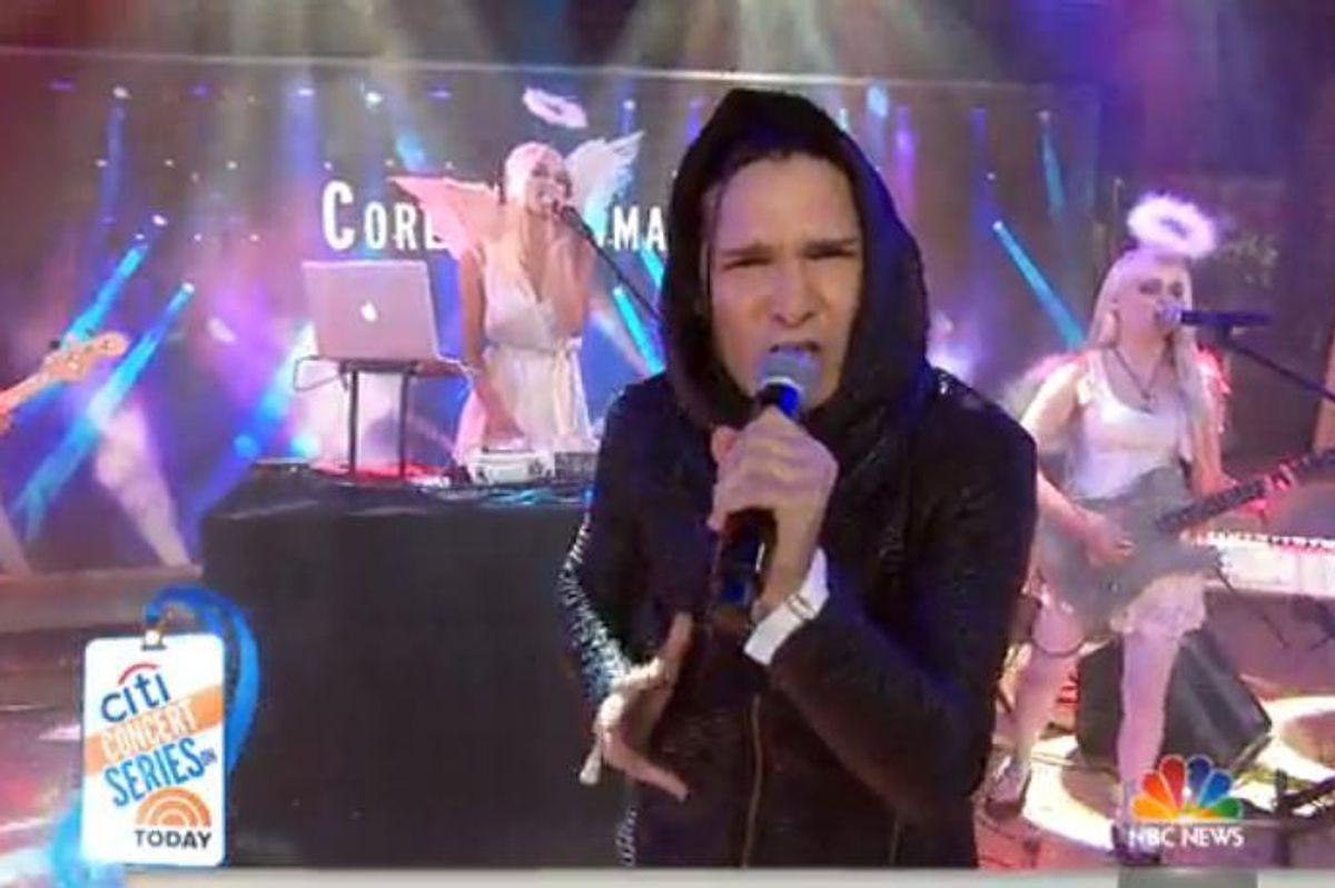 Watch Corey Feldman's Iconic Performance On The Today Show
