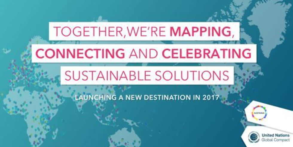 Building World's Largest Platform for Sustainable Solutions