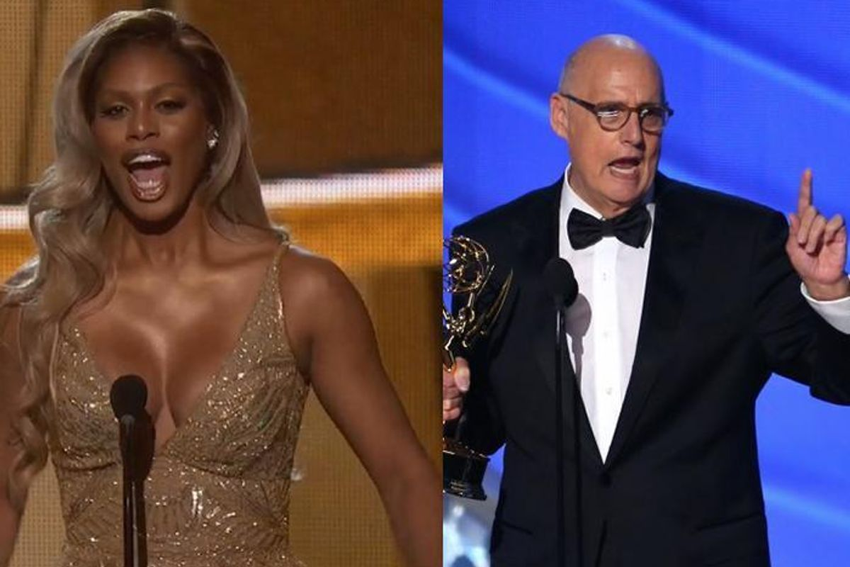 Watch Laverne Cox and Jeffrey Tambor Call for More Trans Roles at the Emmys