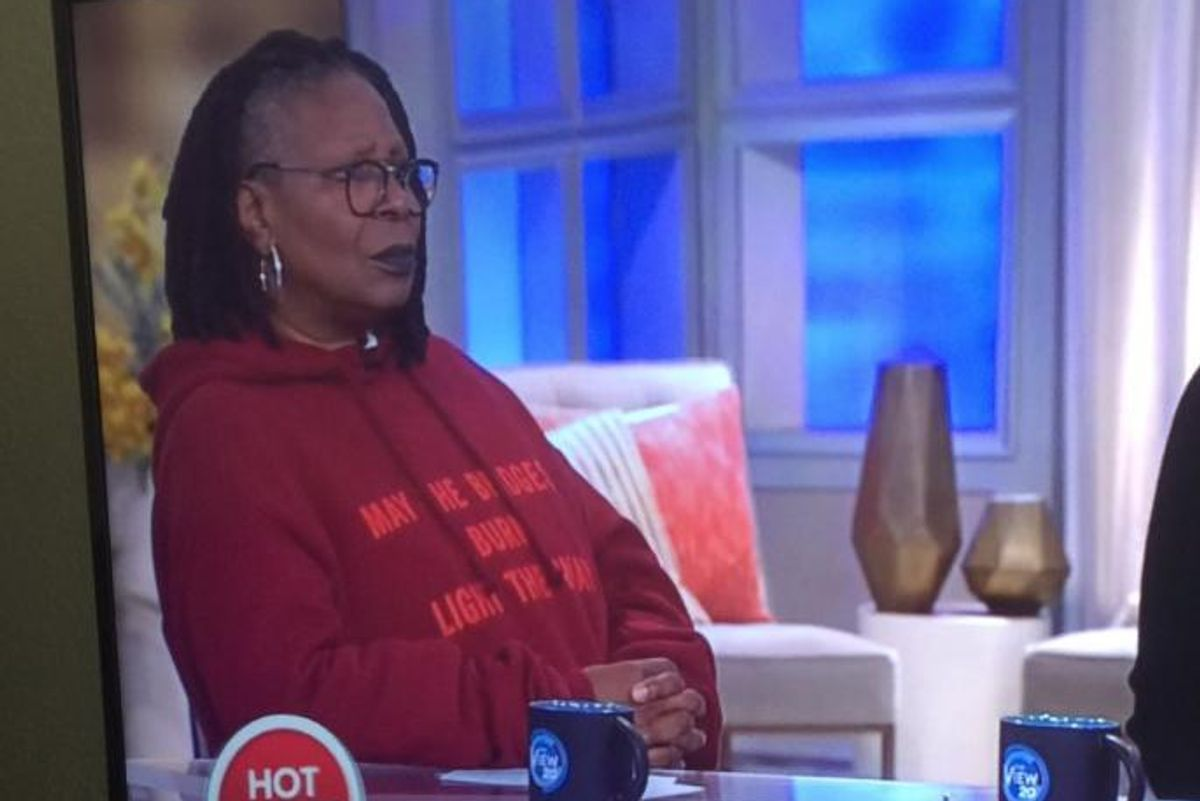 Whoopi Goldberg Wore Vetements on the View This Morning