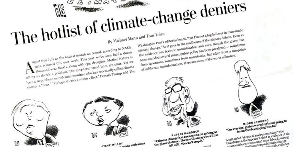 Michael Mann's Hotlist of the 9 Most Prominent Climate Deniers