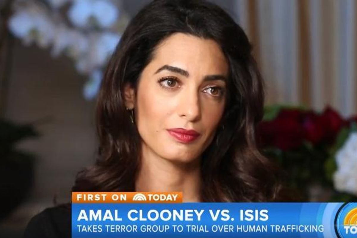 Amal Clooney Demands ISIS Be Prosecuted For Yazidi Genocide And Crimes Against Humanity