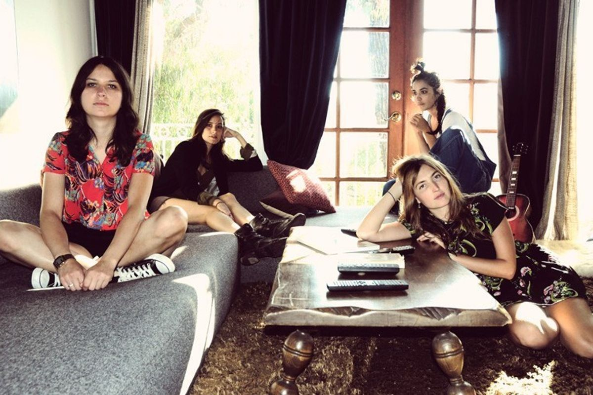 "Listen to New Warpaint Track ""Whiteout"""