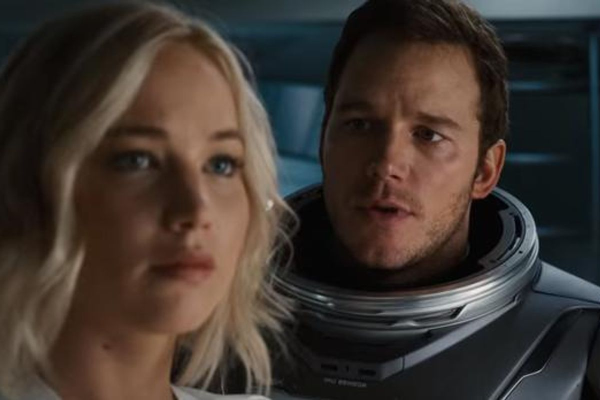 """Watch The Trailer For Jennifer Lawrence and Chris Pratt's New Space Odyssey """"PASSENGERS"""""""