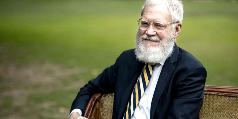 This Sunday David Letterman Returns to TV