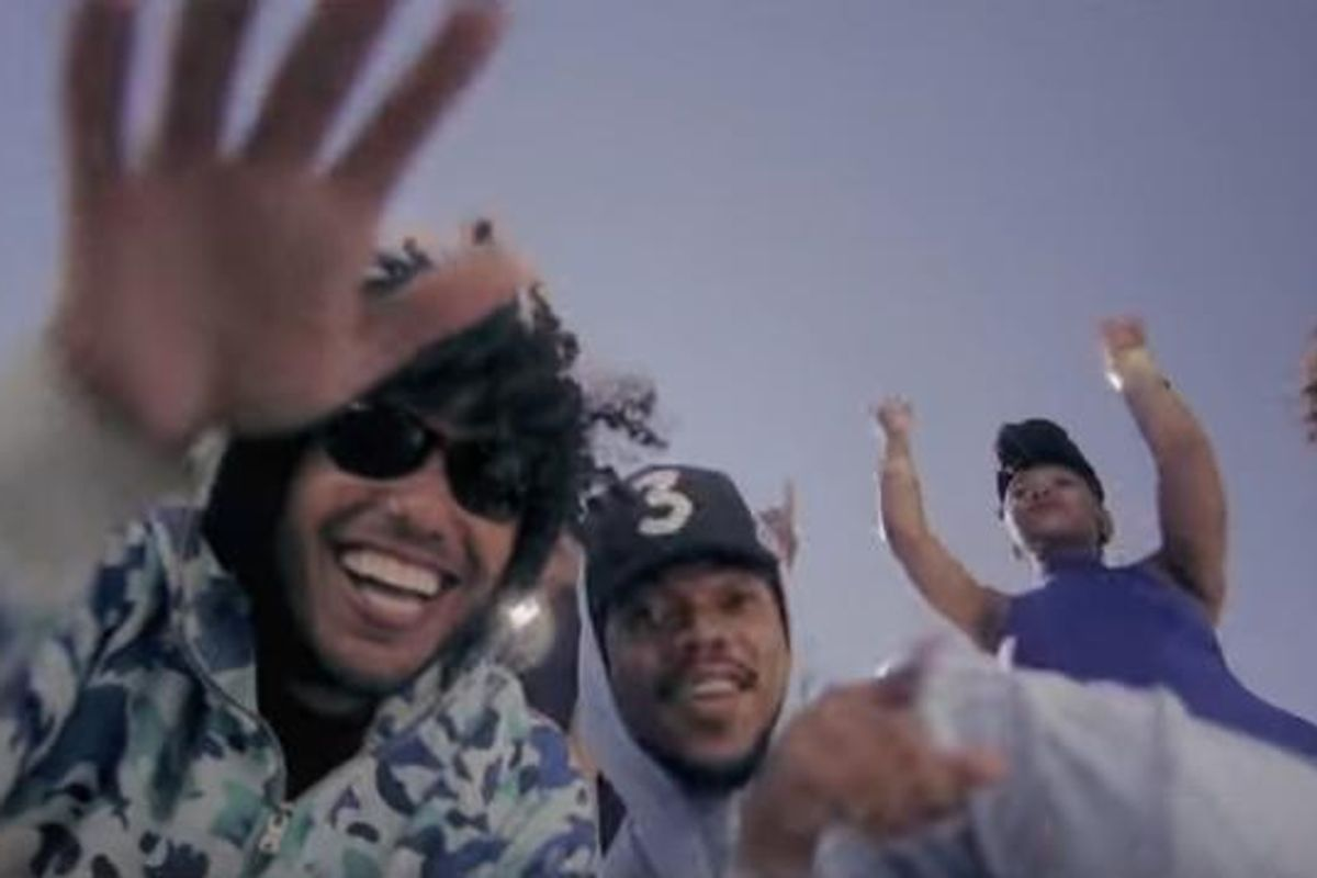 """Watch The Video For Joey Purp and Chance The Rapper's Song """"Girls @"""""""