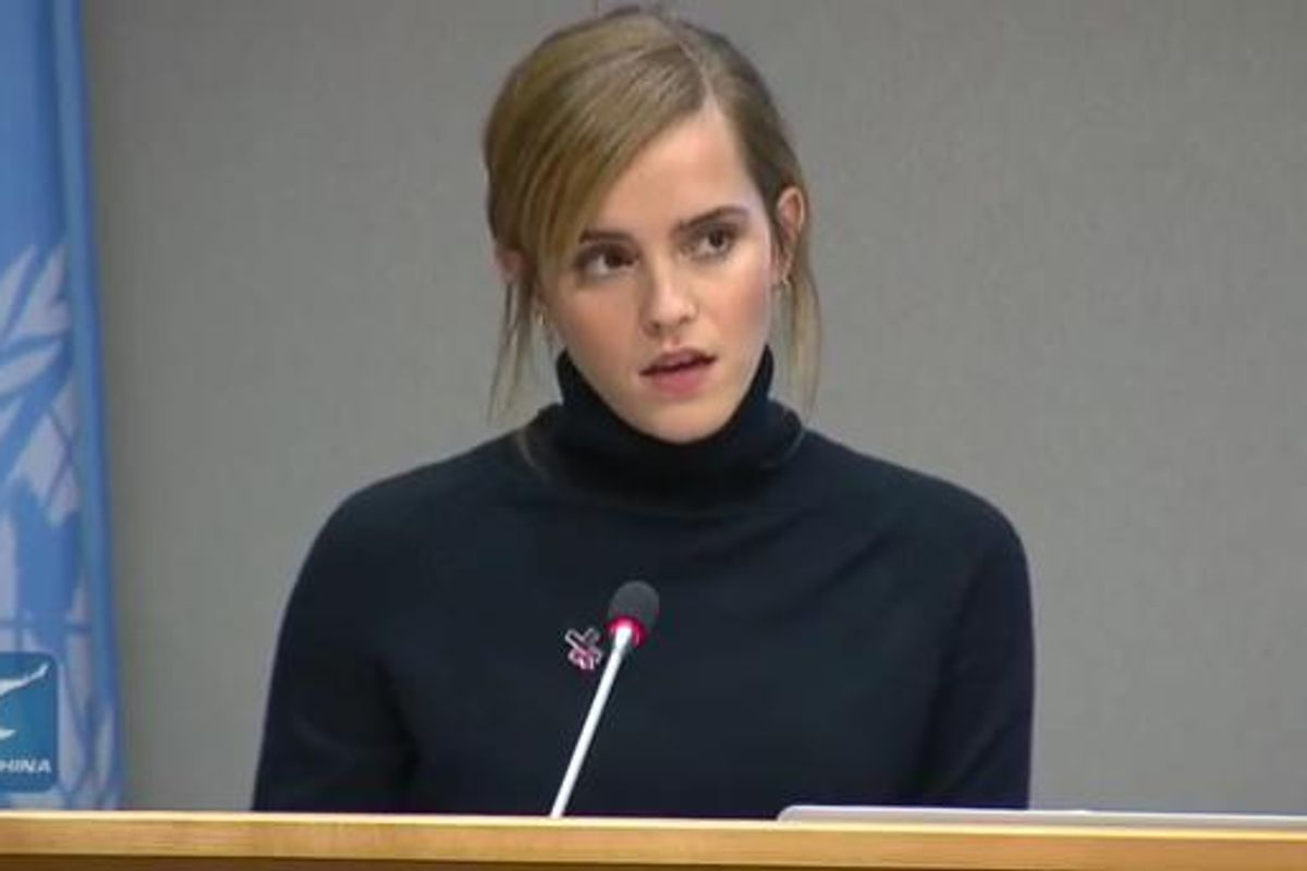 Emma Watson Addresses Gender Inequality on College Campuses
