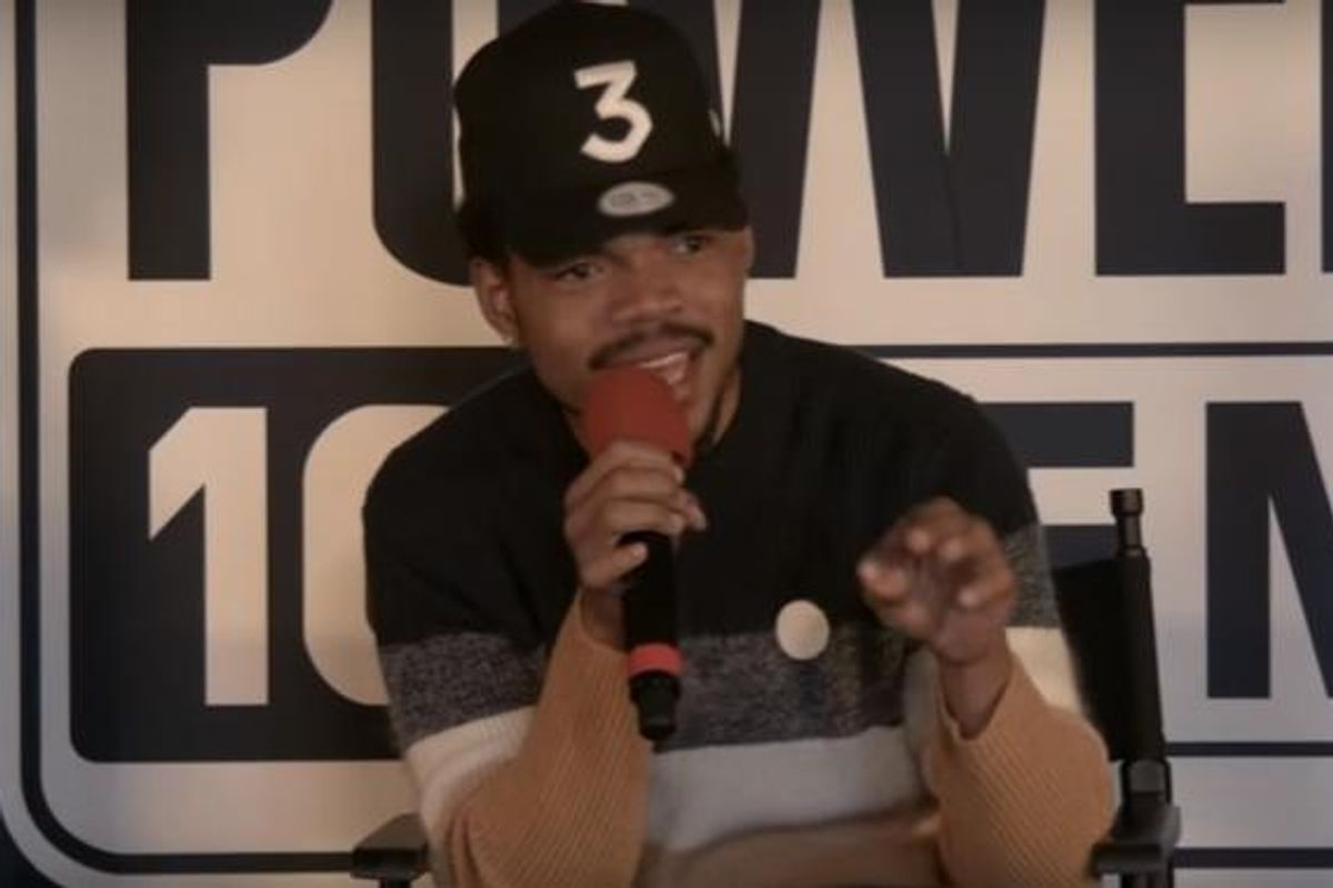 Chance The Rapper Talks About His Upcoming Project With Kanye West