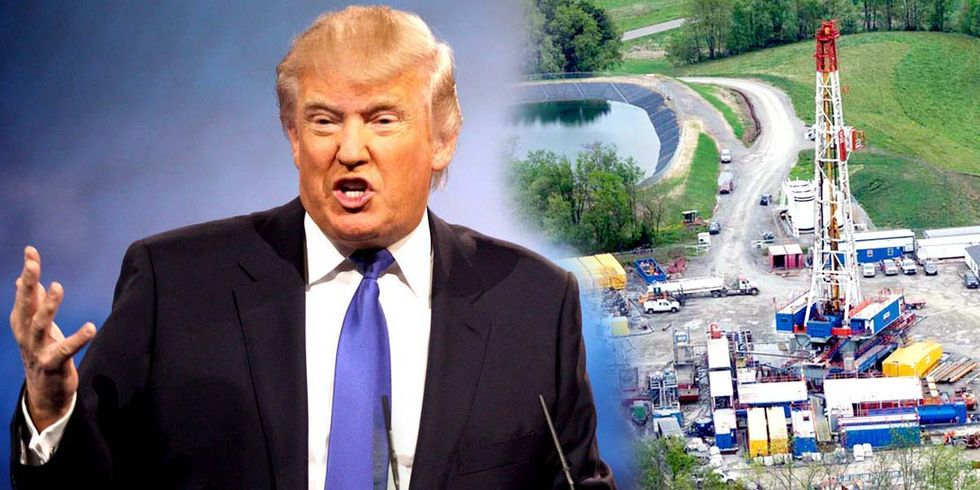 Trump Touts 'Dirty-Fuels-First Plan' at Fracking Conference