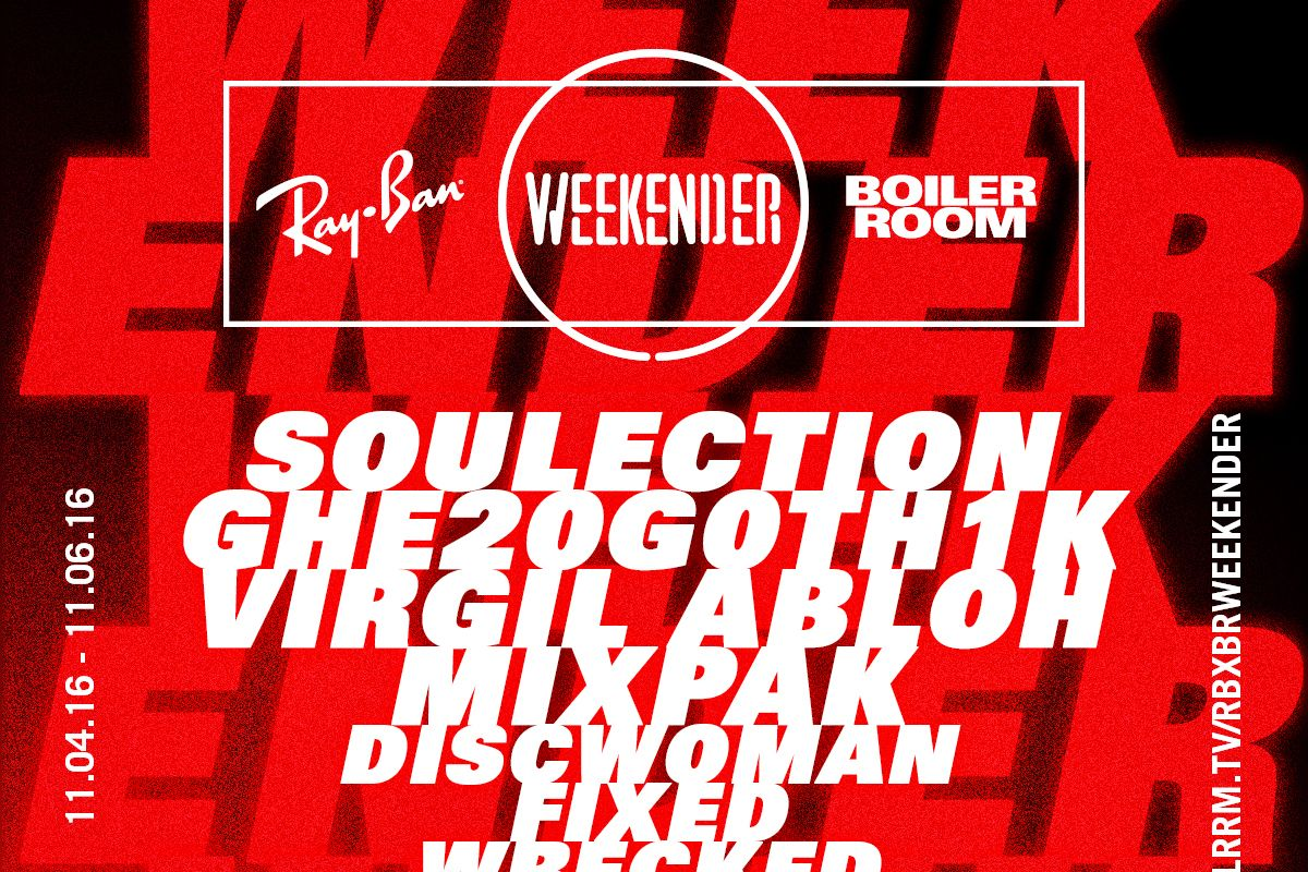 Ray-Ban x Boiler Room Announce Getaway Festival Curated By Virgil Abloh, GHE20G0TH1K And More
