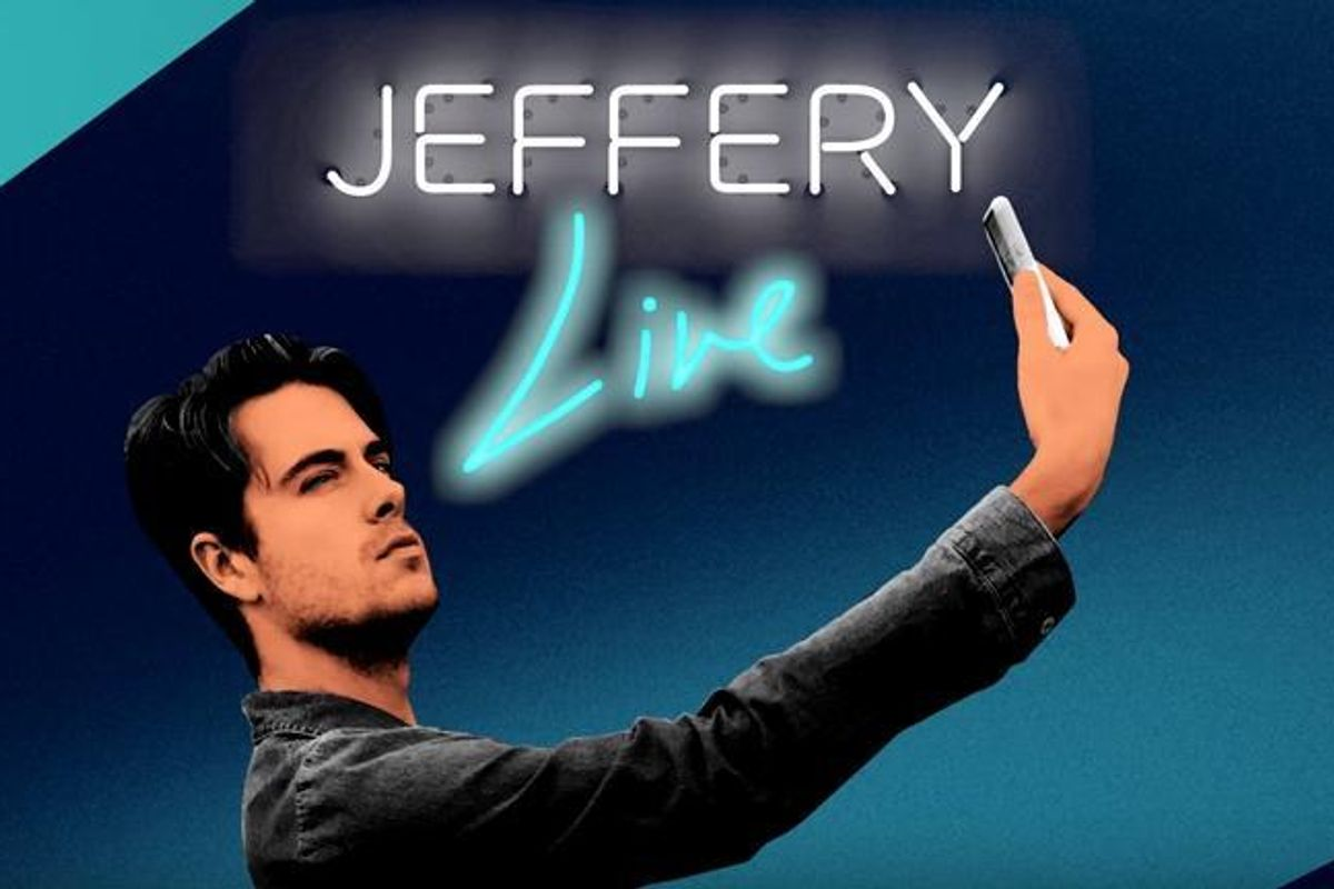 """Your New Favorite Facebook Live Talk Show (Yes, That's Correct) Is """"Jeffery: Live"""" With Jeffery Self"""