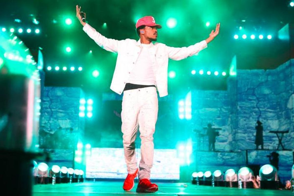 Watch Chance the Rapper Perform with Giant Puppets