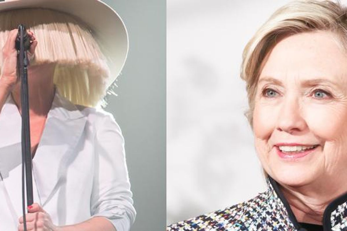 "Sia Turns Trump's Awful ""Stamina"" Insult Into A Pro-Hillary Theme Song"