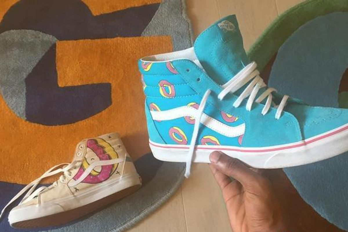 Tyler, The Creator Releases His (and Our) Dream Donut-Covered Vans