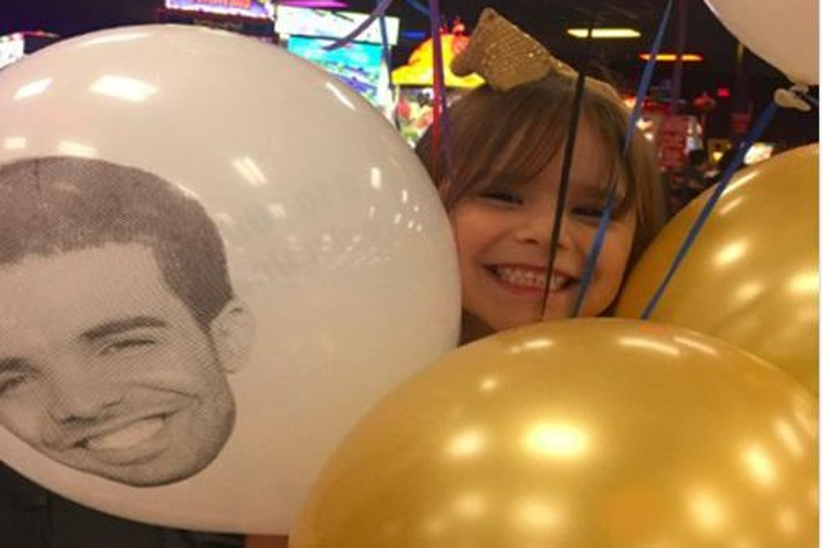 This Six-Year-Old Had an Insane Drake-Themed Birthday Party