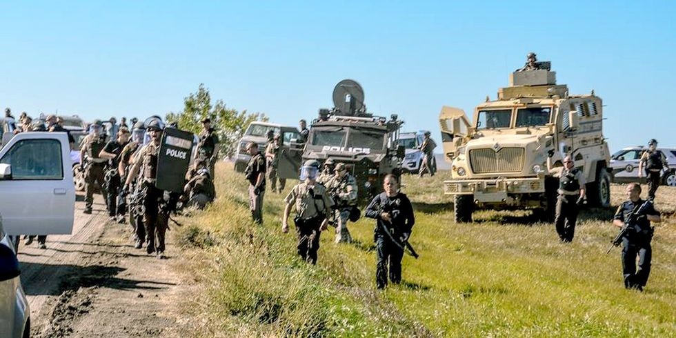 21 Arrested During Peaceful Prayer Ceremony at Standing Rock