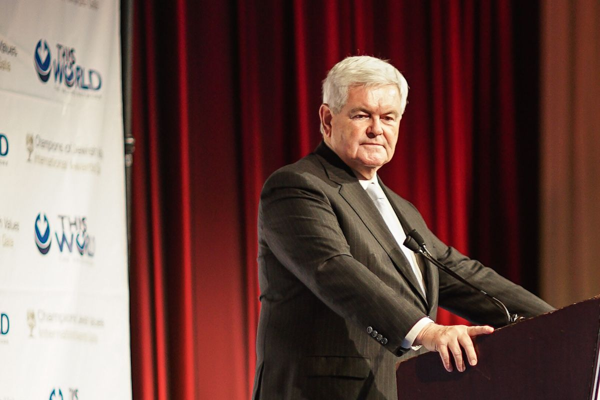 Newt Gingrich Agrees With Donald Trump's Comments About Alicia Machado's Weight