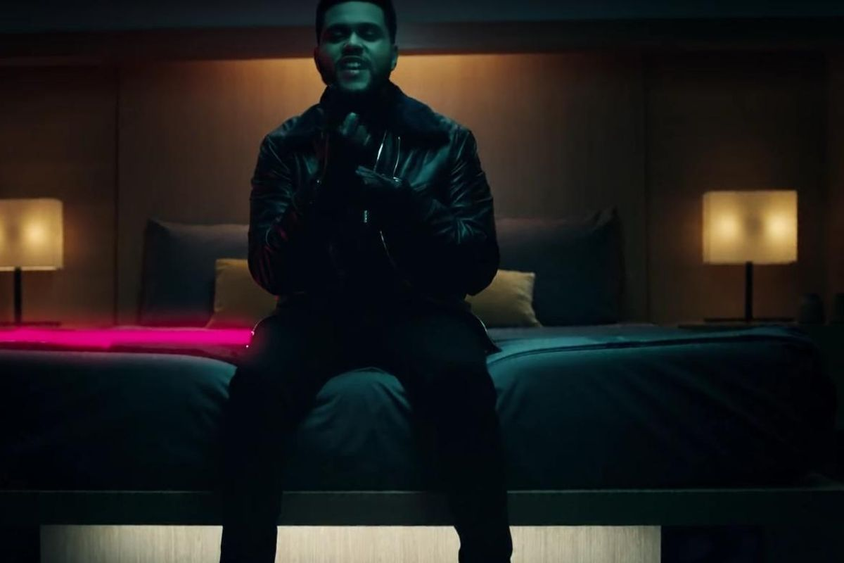 "Watch The Weeknd Dispose of His Old Persona In The Wild New Video For ""Starboy"""