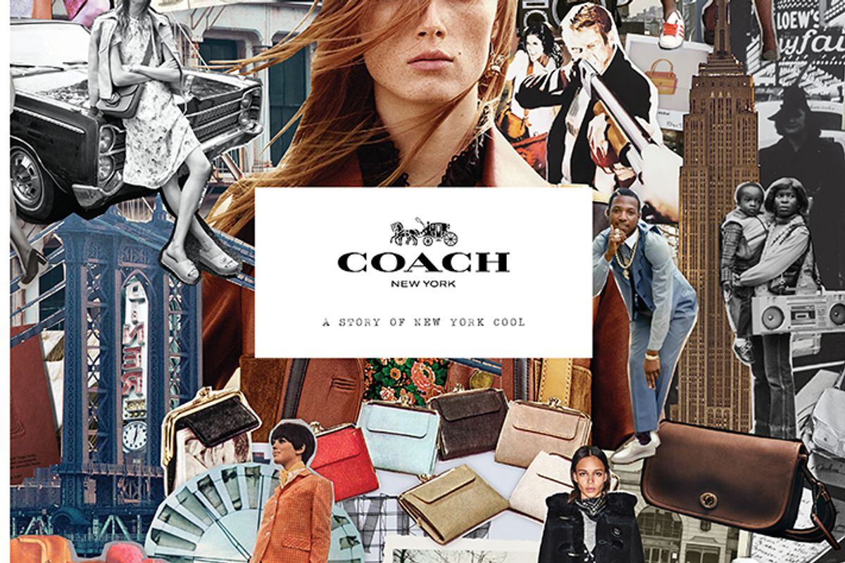 """Coach To Release Art Book, """"Coach: A Story of New York Cool"""""""