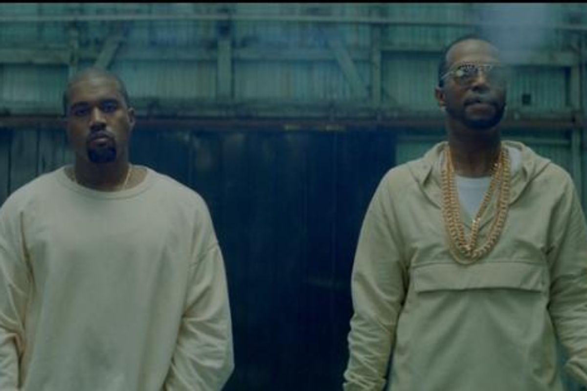 """Watch Juicy J and Kanye West's Video For New Song """"Ballin"""""""