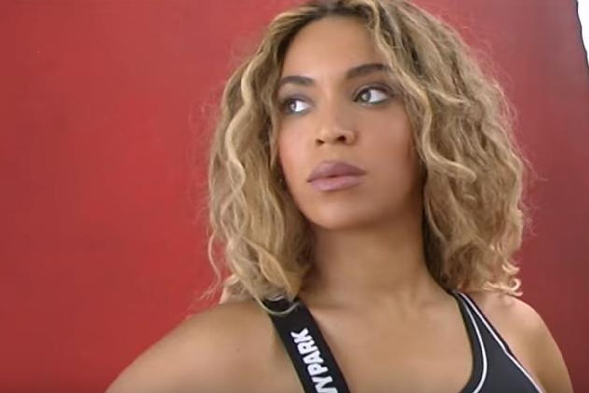 Watch The New Promo Video For Beyoncé's Ivy Park FW'16