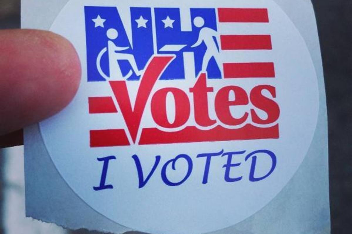 Snap Away! Voting Selfies Are Legal (at Least in New Hampshire)