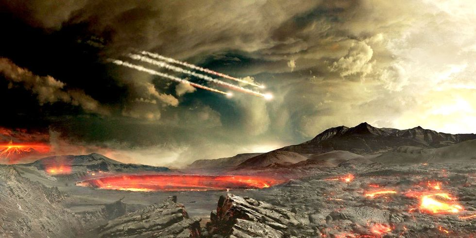 New Twist on Popular Theory for the Origin of Life on Earth