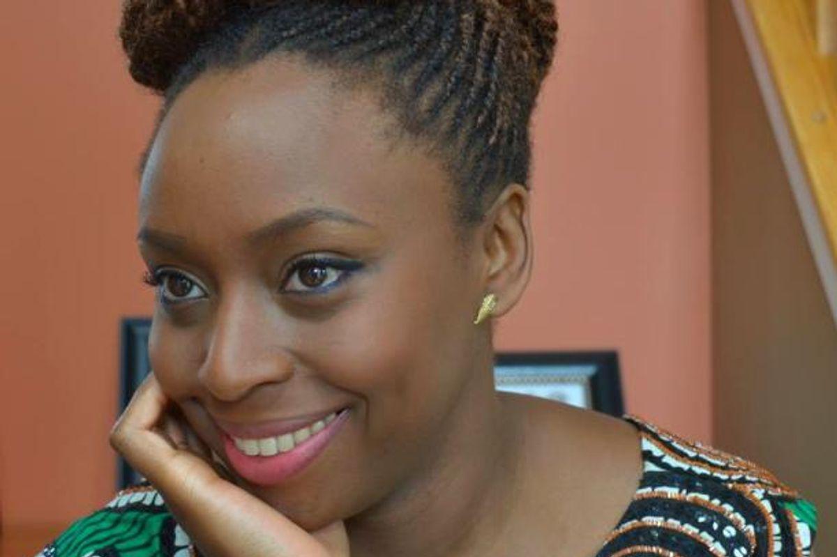 Feminist Icon Chimamanda Ngozi Adichie Sat Front Row at Dior for a Reason