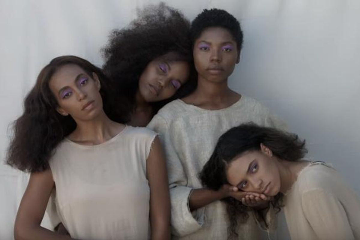 """Solange Releases New Videos For """"Cranes In The Sky"""" and """"Don't Touch My Hair"""""""