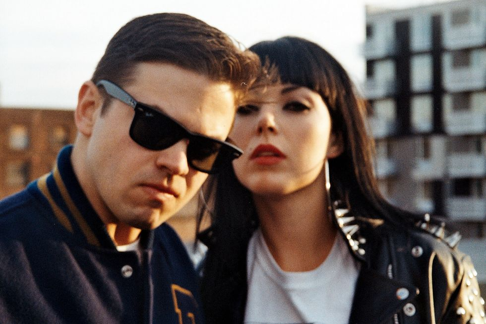 "Listen to Sleigh Bells Epic New Track ""I Can Only Stare"""