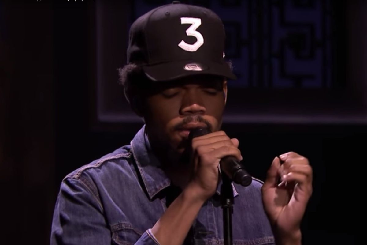 "Watch Chance The Rapper Perform ""Blessings"" With A Gospel Choir On Fallon"