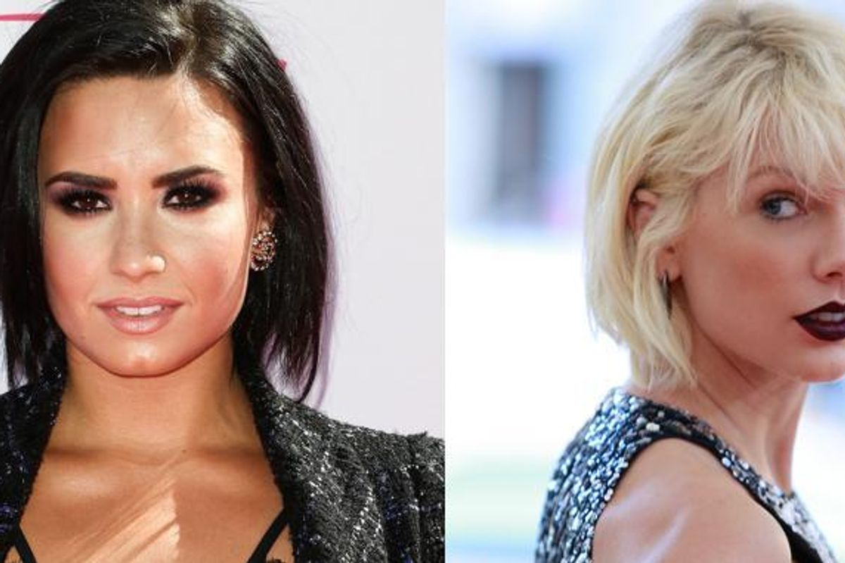 Demi Lovato Calls Out Taylor Swift, Again, For Her Allegedly Slithery Ways