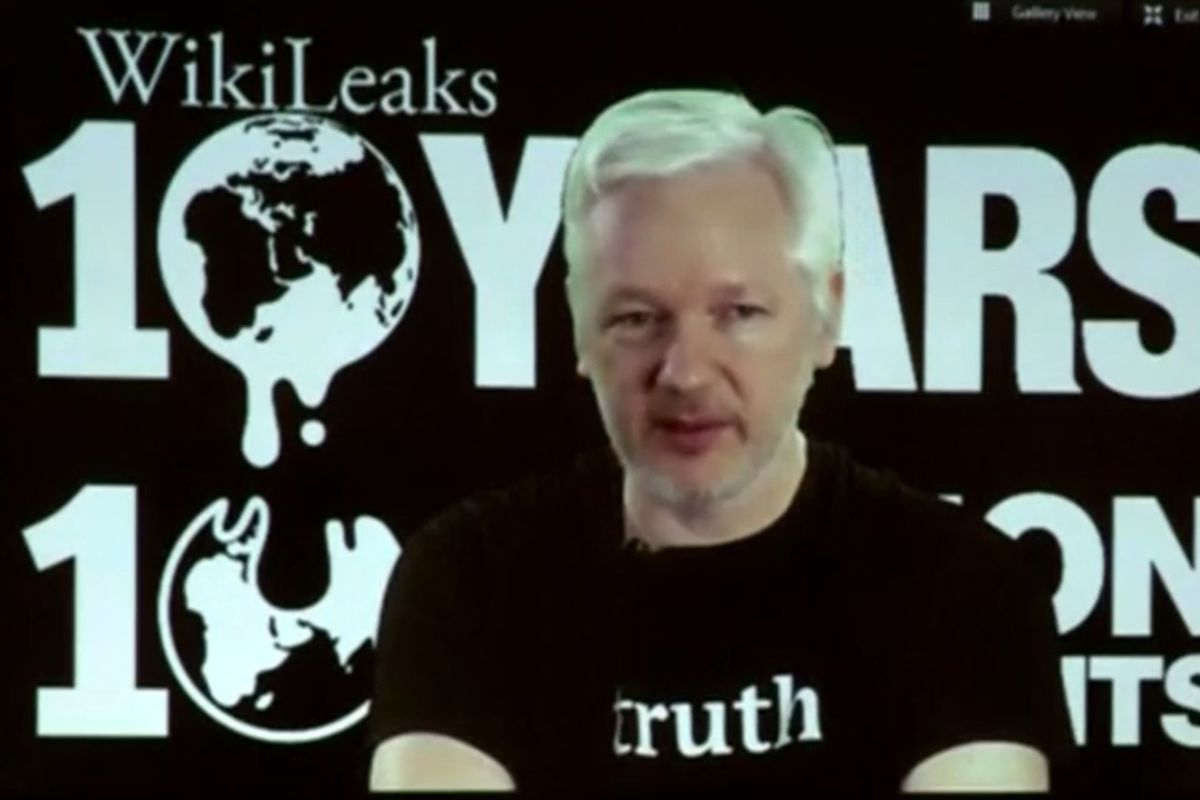 Julian Assange Promises Release Of One Million Documents Before The Election
