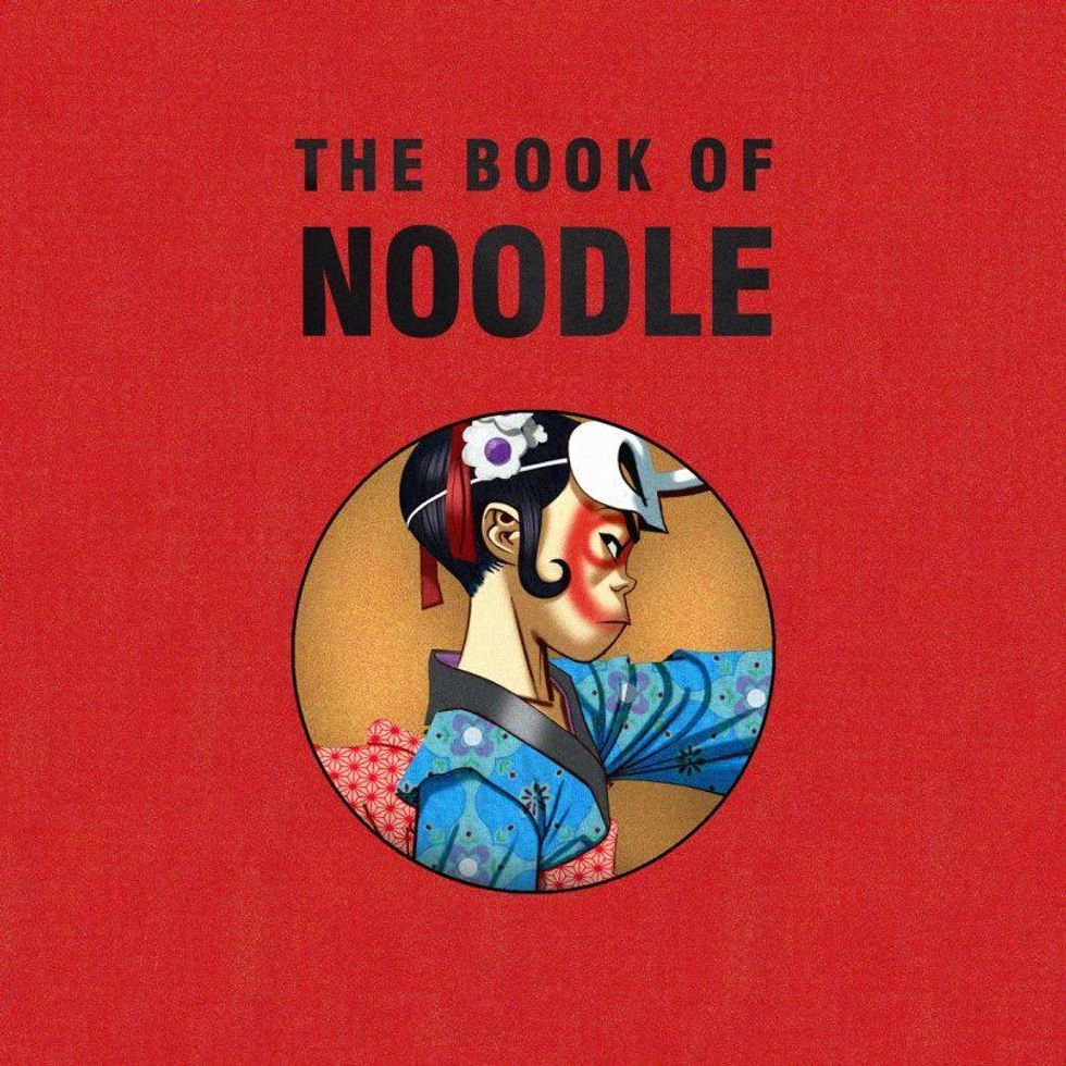 "Gorillaz Releases Multimedia Storybook ""The Book of Noodle"""