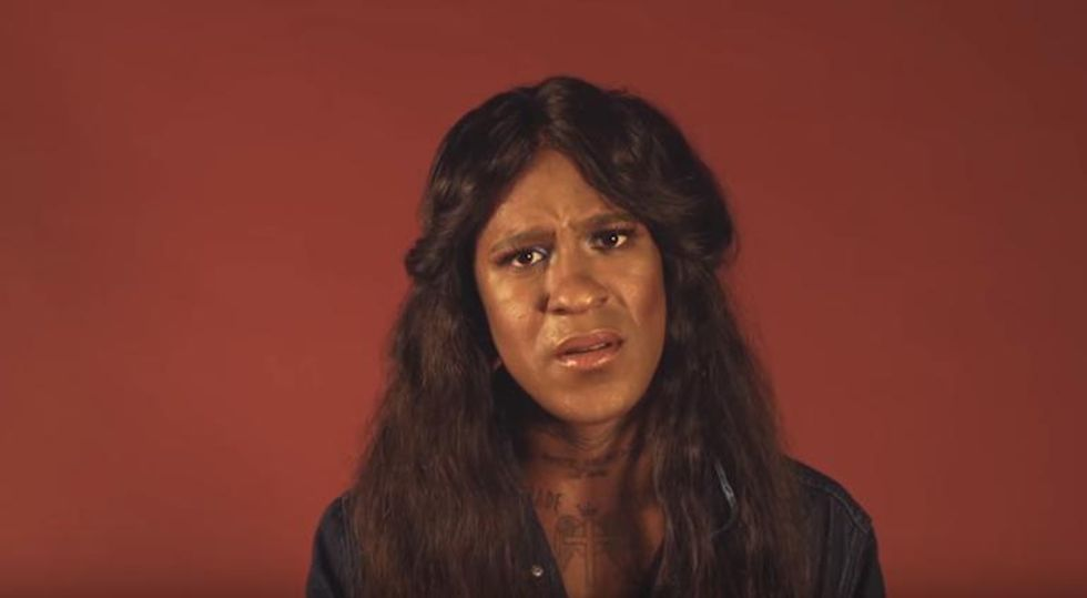 """Watch Mykki Blanco Recite The 1992 Poem """"I Want A Dyke For President"""""""