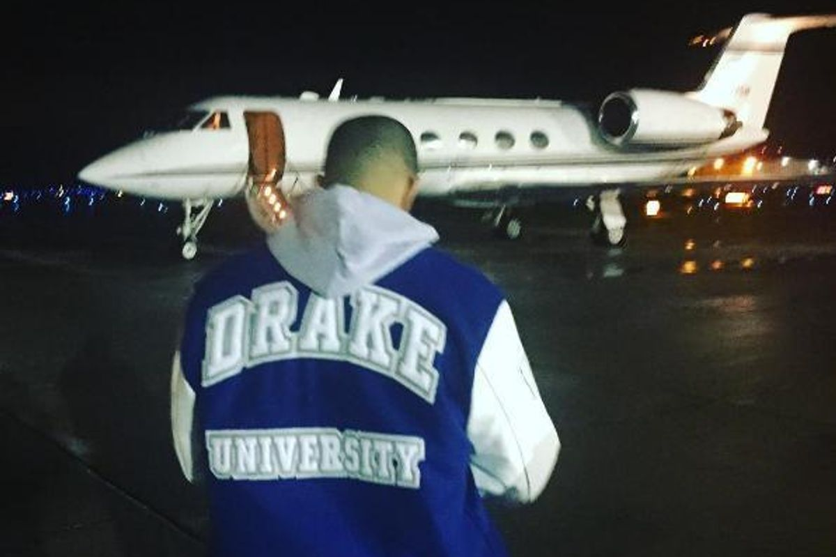 Drake Paid A Visit To Drake University And All The Students Slept Through It