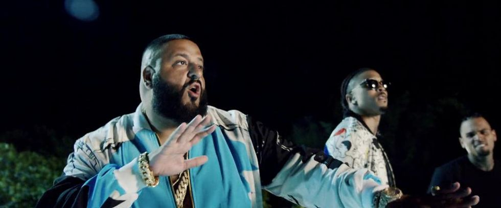 "Watch DJ Khaled's Star-Packed Video For ""Do You Mind"""