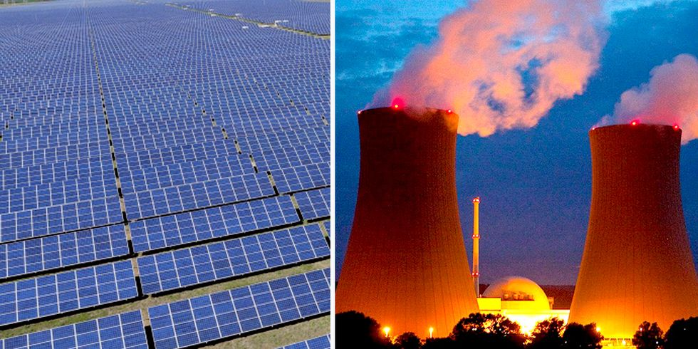 Nuclear Power Rapidly Losing Race With Renewable Energy