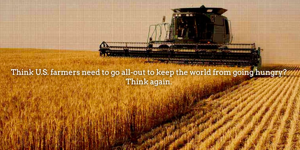 New Report Busts Myth That GMOs Are Needed to 'Feed the World'