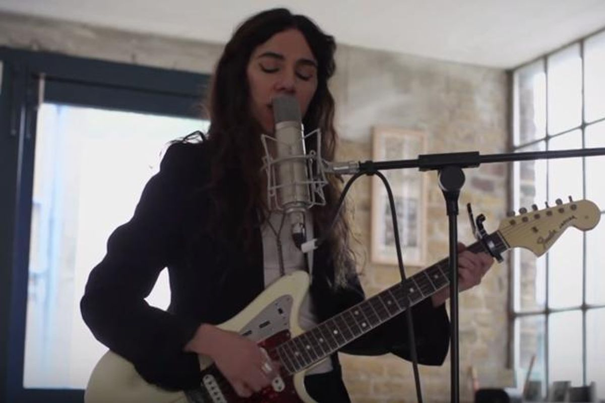 PJ Harvey Collaborating With Refugee Poets On Multimedia Project