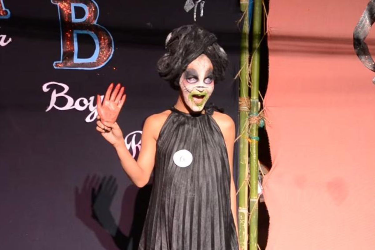 Watch The Exorcist-Themed Whitney Houston Drag Performance Of Your Dreams And Nightmares