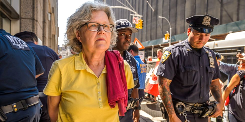 From Ivory Tower to Behind Bars: Professor Joins Climate Activists in New York Fracking Pipeline Fight