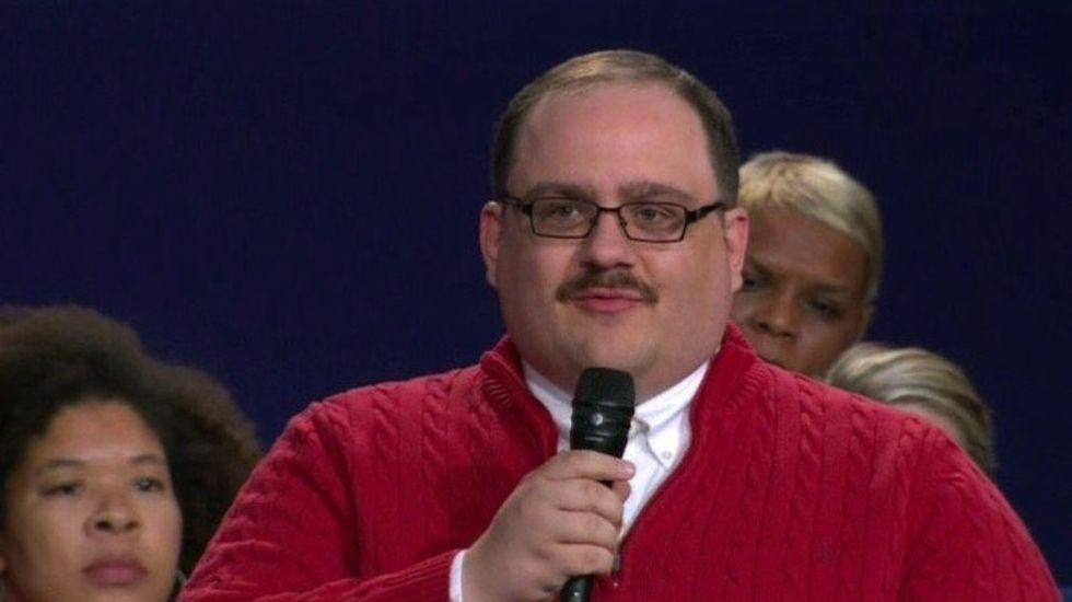 The Winner Of Last Night's Debate Was Definitely Internet Icon Kenneth Bone
