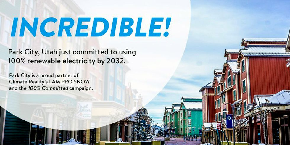 Park City Signs 100% Renewable Electricity Pledge