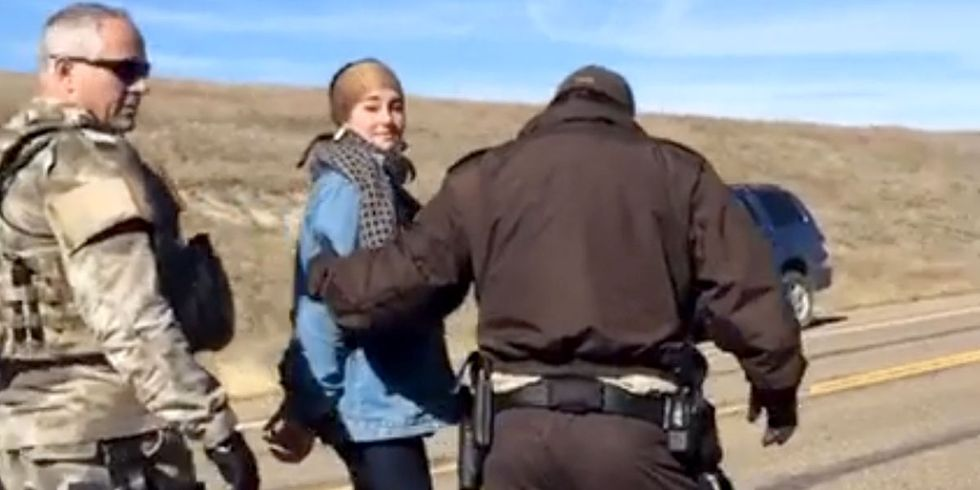 Shailene Woodley + 26 Others Arrested While Peacefully Protesting Dakota Access Pipeline